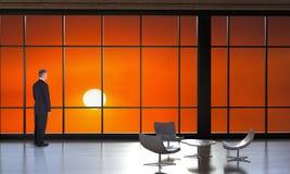 Negocio, ventas, márketing, salida del sol, puesta del sol foto de archivo