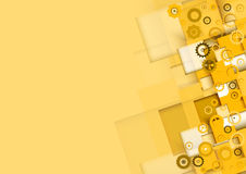 Negocio y desarrollo abstractos del fondo de la tecnología Imágenes de archivo libres de regalías