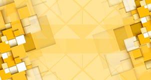 Negocio y desarrollo abstractos del fondo de la tecnología Imagenes de archivo
