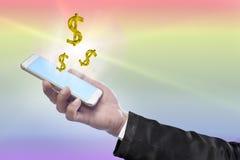 Negocio y financier0es Imagen de archivo