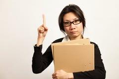Negocio y trabajadora Imagen de archivo