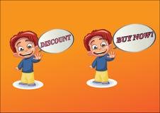 Negocios de los anuncios Foto de archivo