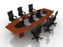 negocjacja stół Obrazy Royalty Free