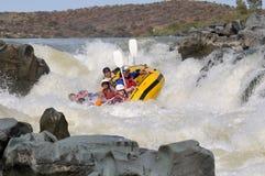Negocjować piekło bramę w Gariep rzece, Sout (Pomarańczowa rzeka) Obrazy Royalty Free