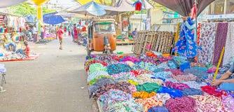 Negombo市场  免版税库存照片