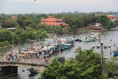 Negombo,斯里兰卡, 11月 图库摄影