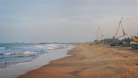 Negombo, Σρι Λάνκα Στοκ Φωτογραφίες