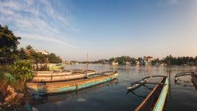 Negombo, Σρι Λάνκα Στοκ Φωτογραφία