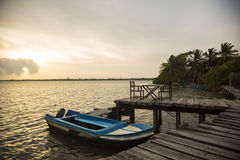 Negombo Σρι Λάνκα bote Στοκ εικόνες με δικαίωμα ελεύθερης χρήσης