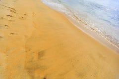 Negombo beach, Sri Lanka Royalty Free Stock Photo