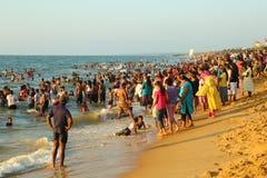 Negombo Beach in Sri Lanka Stock Images