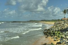 Negombo, Sri Lanka - sea and ocean Stock Image