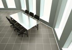 Negotiating table Royalty Free Stock Photo