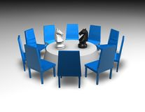 Negotiation, business meeting concept Royalty Free Stock Images