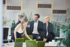 Negotiation of business people Stock Image