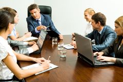 Negotiations Royalty Free Stock Images