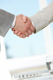 After negotiations Stock Images