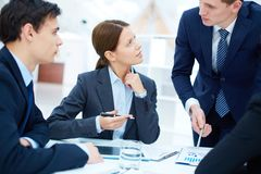 Negotiations Stock Photography
