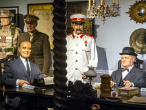 Negotiations statesmen USA, United Kingdom, USSR-World War II Stock Photo