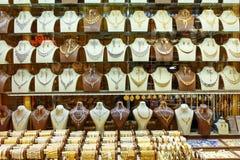 Negozi di gioielli del bazar dell'oro o di Amir Bazaar a Tabriz Provincia orientale dell'Azerbaigian l'iran fotografia stock