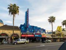 Negozi a Hollywood Fotografie Stock