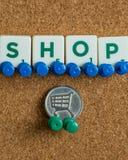 negozio immagine stock