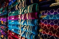 Negozio Casablanca della coperta Fotografia Stock Libera da Diritti