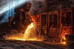 Negozio d'acciaio Fotografia Stock