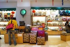 Negozio dei bagagli Fotografie Stock Libere da Diritti