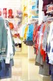 negozio dei bambini s Fotografia Stock Libera da Diritti