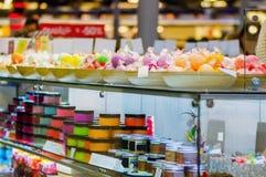 Negozio dei prodotti di bellezza Fotografia Stock