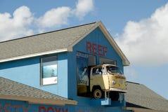 Negozio dei surfisti nel Texas Fotografia Stock Libera da Diritti