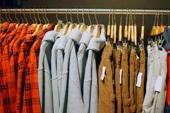 Negozio dei vestiti Fotografia Stock