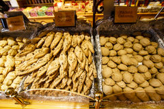 Negozio del biscotto Fotografie Stock