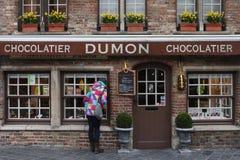 Negozio del cioccolato Fotografia Stock Libera da Diritti