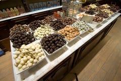 Negozio del cioccolato Fotografie Stock Libere da Diritti
