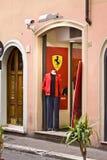 Negozio del Ferrari Fotografia Stock Libera da Diritti