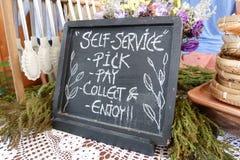 Negozio del forno di self service Immagine Stock