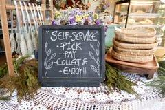 Negozio del forno di self service Fotografia Stock