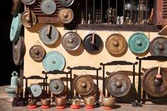 Negozio del gong Immagini Stock