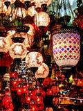 Negozio del lampadario a bracci Immagini Stock Libere da Diritti