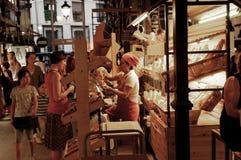 Negozio del pane immagine stock libera da diritti