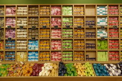 Negozio del sapone sul samui del KOH Fotografia Stock
