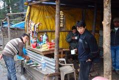 Negozio del tè nella regione montana Fotografia Stock Libera da Diritti