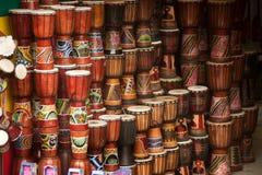 Negozio del tamburo Fotografia Stock