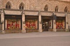 Negozio dell'abbazia di Westminster Fotografie Stock Libere da Diritti