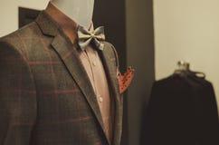 Negozio dell'abbigliamento degli uomini Fotografia Stock