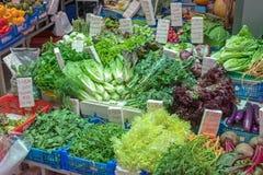 Negozio dell'insalata Fotografia Stock