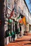 Negozio dell'Irlandese Fotografia Stock Libera da Diritti