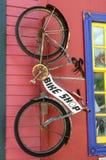 Negozio della bici Fotografia Stock